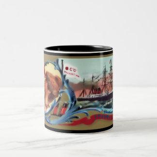 フランスのなライン・カード ツートーンマグカップ