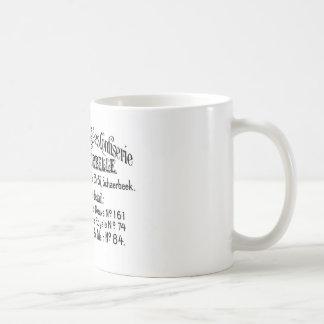 フランスのなヴィンテージのタイポグラフィチョコレート広告 コーヒーマグカップ