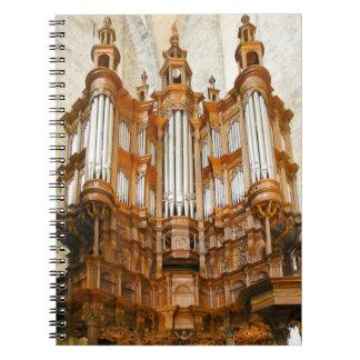 フランスのな器官のノート ノートブック