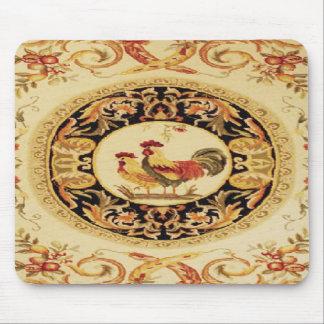 フランスのな国のオンドリ及び雌鶏のデザインのマウスパッド マウスパッド