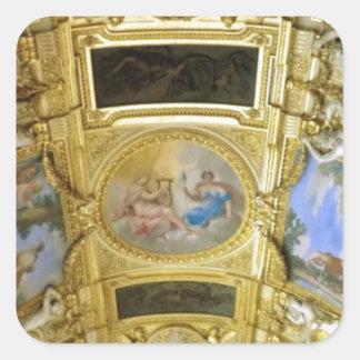 フランスのな天井の絵画 スクエアシール
