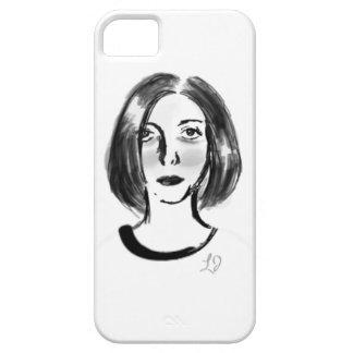 フランスのな女の子 iPhone SE/5/5s ケース