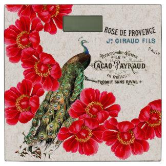 フランスのな孔雀のシャクヤクによってはカカオの体重計が開花します 体重計