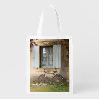 フランスのな家のエコバッグ エコバッグ