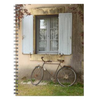 フランスのな家の写真のノート ノートブック