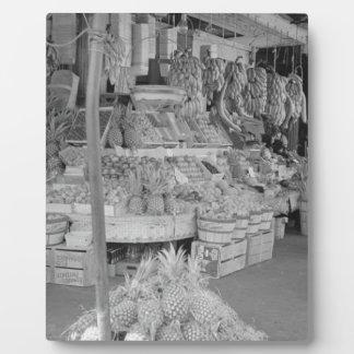 フランスのな市場のフルーツ立場6月1936.jpg フォトプラーク