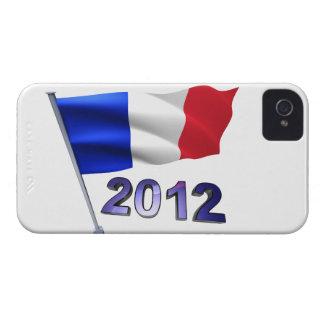 フランスのな旗との2012年 Case-Mate iPhone 4 ケース