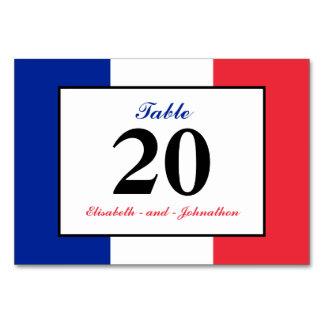 フランスのな旗の結婚式