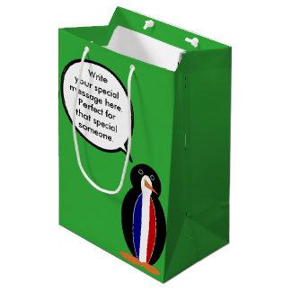 フランスのな旗の話すペンギン ミディアムペーパーバッグ
