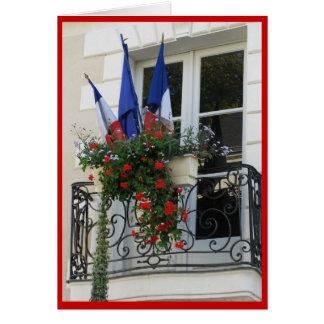 フランスのな旗 カード