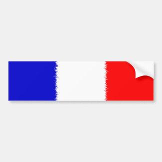 フランスのな旗 バンパーステッカー