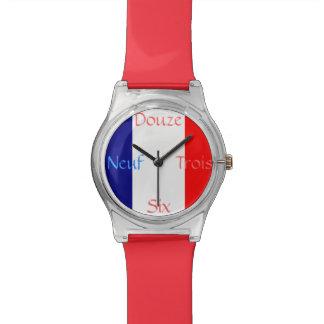 フランスのな旗 腕時計