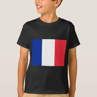 フランスのな旗 Tシャツ