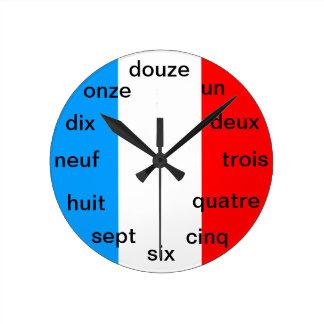 フランスのな時計 ラウンド壁時計