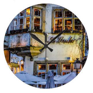 フランスのな時間 ラージ壁時計