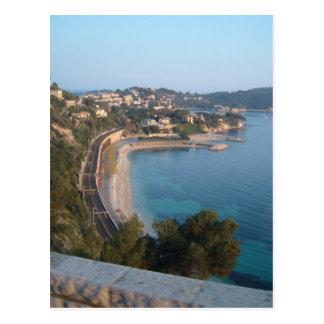 フランスのな海岸の眺め ポストカード