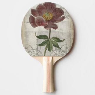 フランスのな花柄I 卓球ラケット
