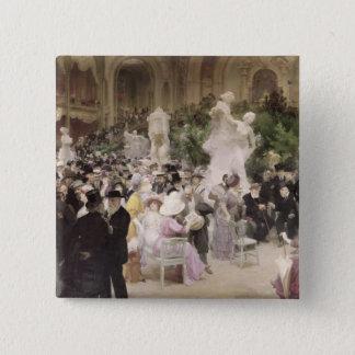 フランスのな芸術家のSalonの金曜日、1911年 5.1cm 正方形バッジ