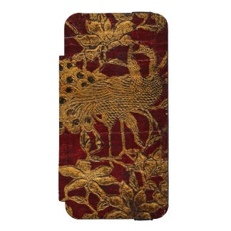 フランスのな詩人の日記のiPhoneのウォレットケース Incipio Watson™ iPhone 5 ウォレット ケース
