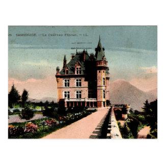 フランスのな館 ポストカード