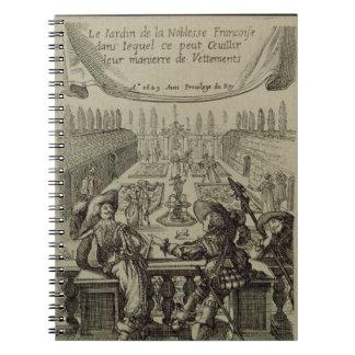 フランスのな高潔、c.1640 (engraviの庭 ノートブック