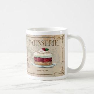 フランスのなPatisserie IIの図解入りの、写真付きのなマグ コーヒーマグカップ
