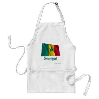 フランスのの名前のセネガルの振る旗 スタンダードエプロン