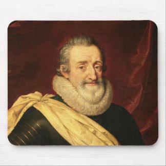フランスのアンリーIV王のポートレート マウスパッド