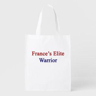 フランスのエリートの戦士 エコバッグ