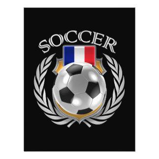フランスのサッカー2016ファンのギア チラシ
