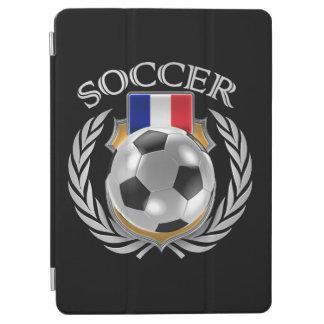 フランスのサッカー2016ファンのギア iPad AIR カバー