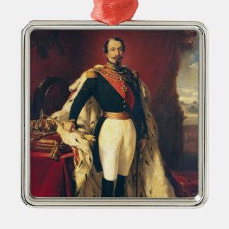フランスのナポレオンIIIの皇帝のポートレート メタルオーナメント