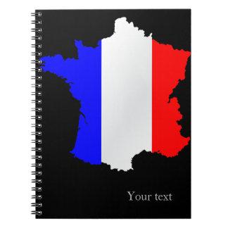 フランスのノート ノートブック