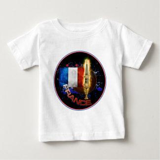 フランスのプライド ベビーTシャツ