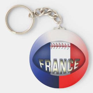 フランスのラグビーのボール キーホルダー