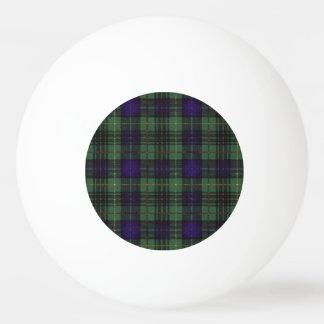 フランスの一族の格子縞のスコットランドのキルトのタータンチェック 卓球ボール