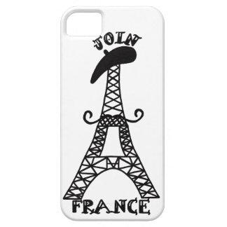 フランスの例 iPhone SE/5/5s ケース