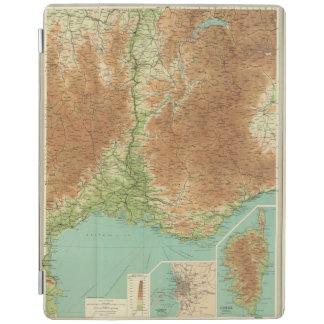 フランスの南東セクションコルシカマルセーユ iPadスマートカバー