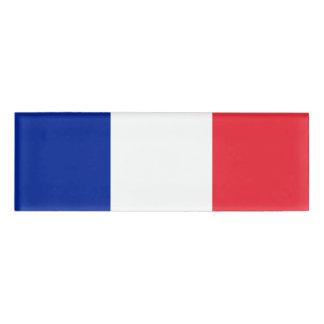 フランスの名札の旗 名札