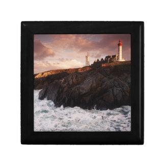 フランスの夜明けに灯台 ギフトボックス