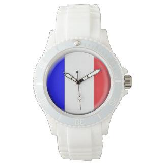 フランスの旗の腕時計 ウオッチ
