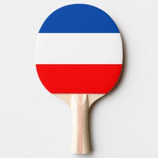 フランスの旗の質 卓球ラケット