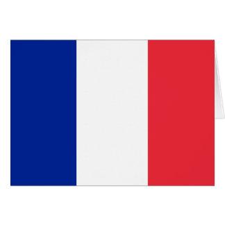フランスの旗 カード