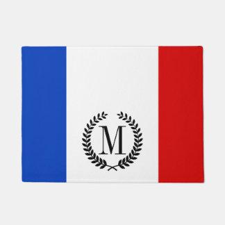 フランスの旗 ドアマット