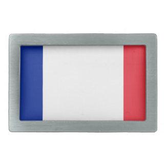 フランスの旗; フランスのな旗、Drapeau deのlaフランス 長方形ベルトバックル