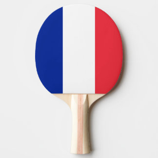 フランスの旗、三色の国旗 卓球ラケット