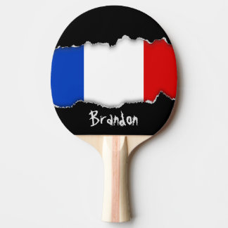 フランスの旗 卓球ラケット
