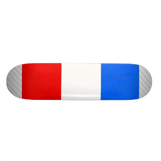フランスの旗 20CM スケートボードデッキ