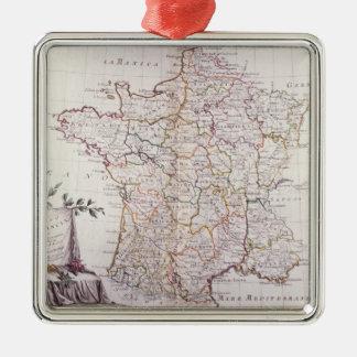 フランスの王国 メタルオーナメント