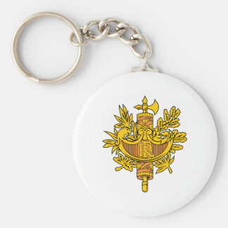 フランスの紋章付き外衣 キーホルダー